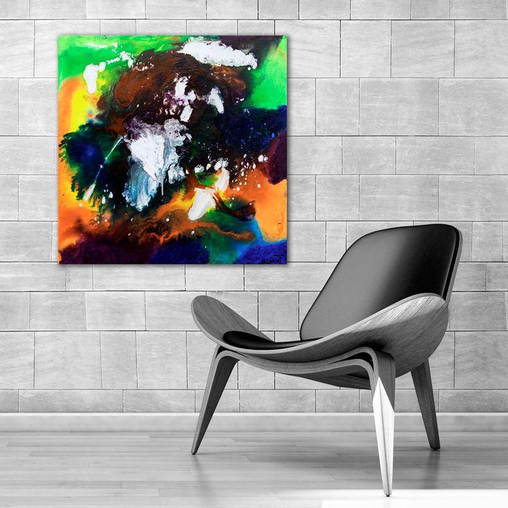 HOME DECOR WITH PAINTINGS !  Infintiy II  My website: https://artbylonfeldt.dk/  #art #arts #paintings #painting #fineart #artbylonfeldt