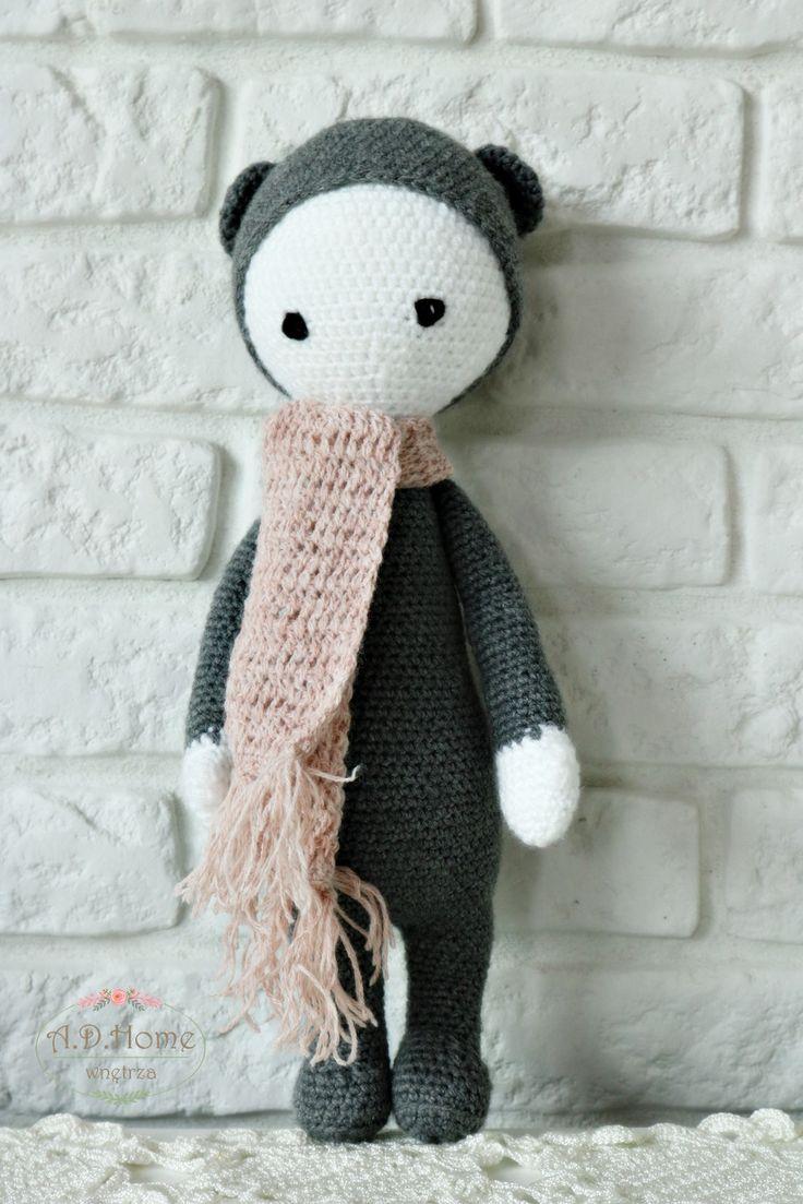miś lalylala, przytulanka, hand made, szydełko, crochet, bear, chrochet bear, chrochet toy