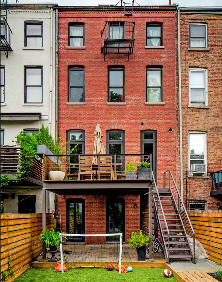 Une maison en briques rouges à Brooklyn | | PLANETE DECO a homes worldPLANETE DECO a homes world