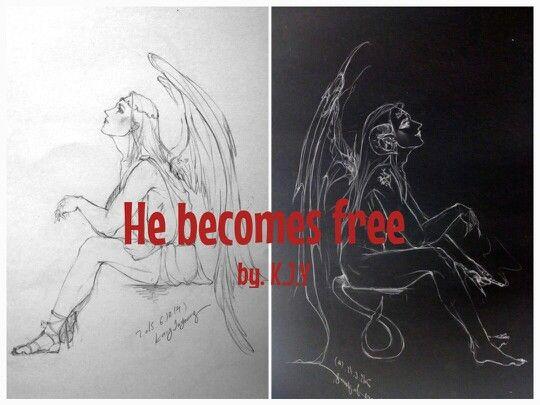He becomes free