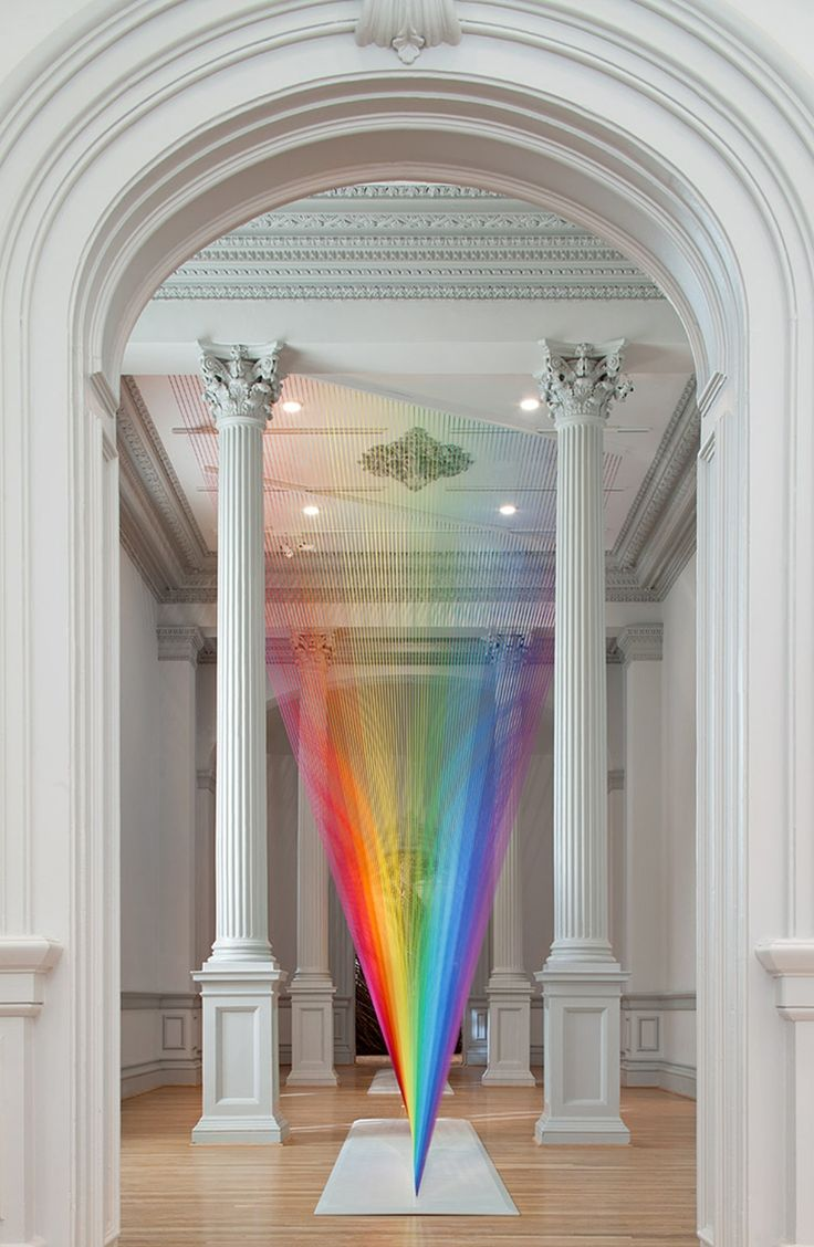 #Art, #Colors, #Installation, #Wire