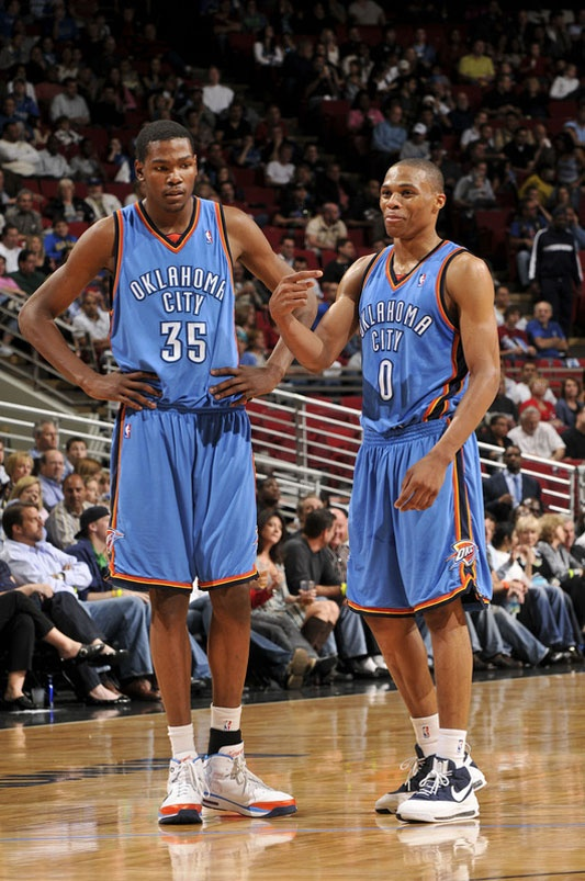 kevin durant and russell westbrook relationship