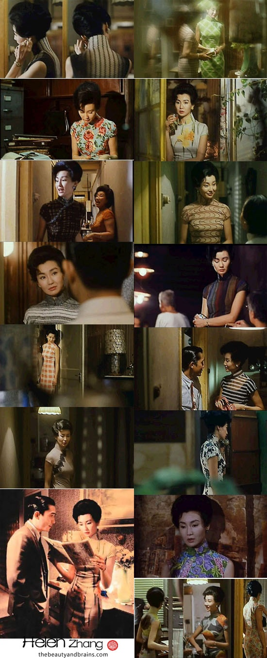 Maggie Cheung In the Mood for Love Costumes
