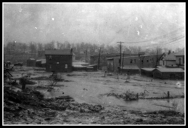 Another rare look at the damage done by the 1936 Flood - sent in by reader Jason Richardson. This is Portage - it's not often that you get ...