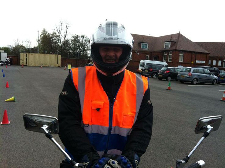 Eddie one of our instructors on CBT