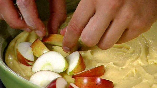 Pauls Svenssons äppelkaka