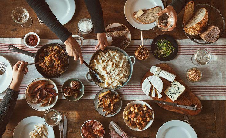 Notre recette de Le macaroni au fromage et ses garnitures — Semaine 9 : À partager | Natrel | Natrel