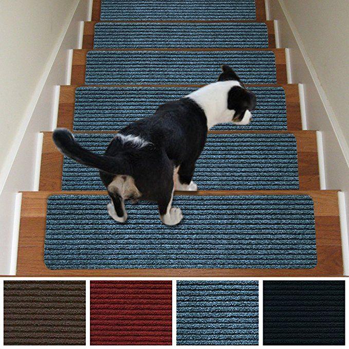 Best Stair Carpet Treads Non Slip Set Of 13 Indoor Stair Tread 400 x 300