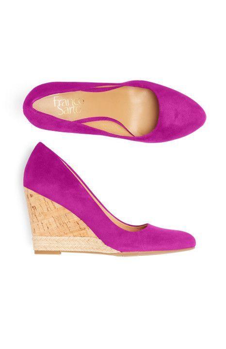 Franco Sarto Fuschia Magenta Pink Wedge Shoes - Stitch Fix Style Quiz