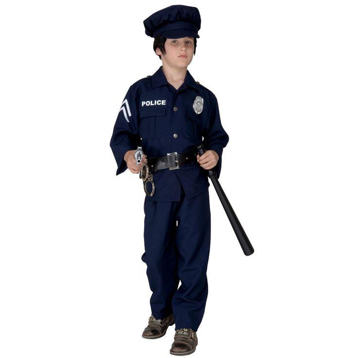 Disfraz de Policía para niño #disfraces #carnaval #outlet #rebajas