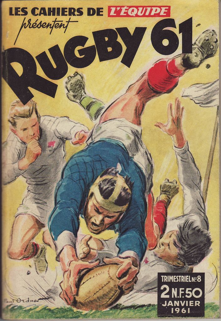 Cahiers de l'Equipe Rugby 1961 | par Frederic Humbert (www.rugby-pioneers.com)