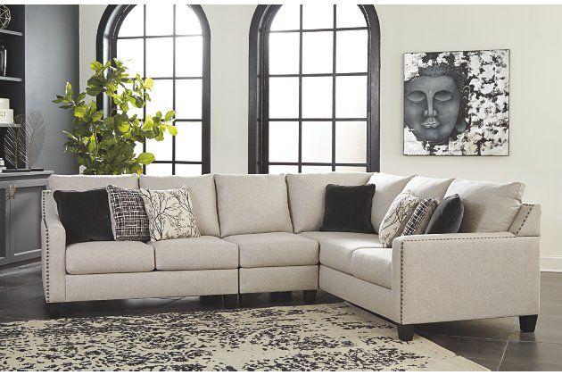 Hallenberg 3 Piece Sectional Ashley Furniture Homestore In 2020 Ashley Furniture Living Room 3 Piece Sectional Ashley Furniture