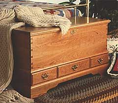 Blanket Chest Woodworking Plan
