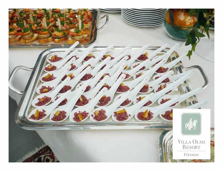 Finger Food - Villa Olmi Resort Wedding