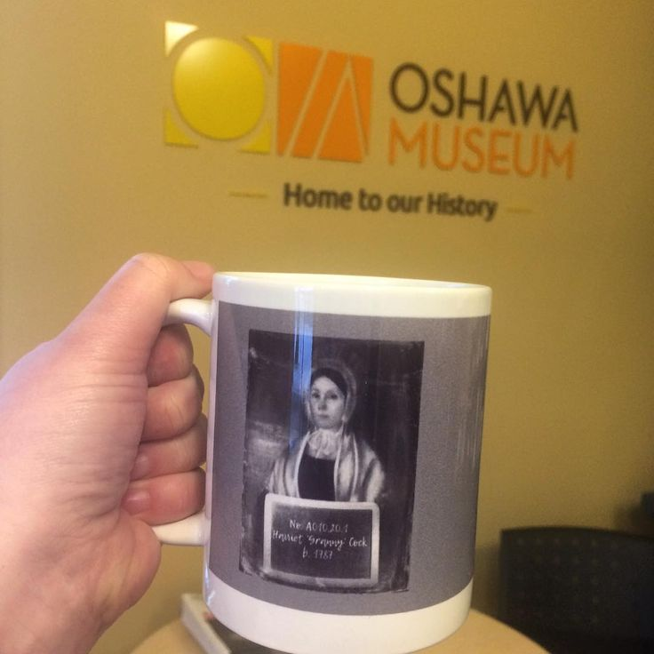 It's a cold one today! Grab a mug and your favourite hot beverage! #oshawamuseum #giftshop #mugshots #museumlife