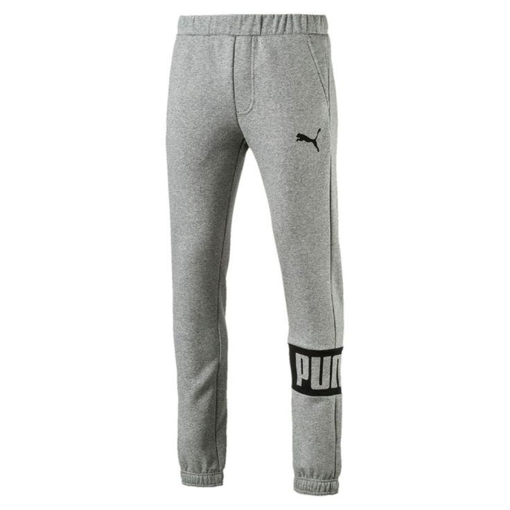 Boys 8-20 PUMA Rebel Fleece Jogger Pants, Size: Medium, Grey
