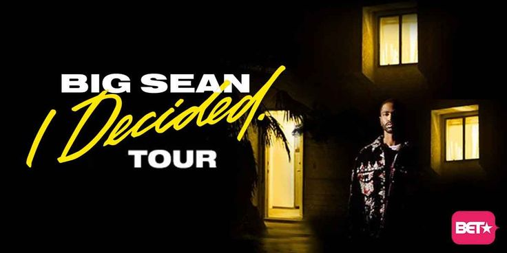 BET is giving away 2 VIP tickets to see Big Sean perform on his I Decided Tour in NYC