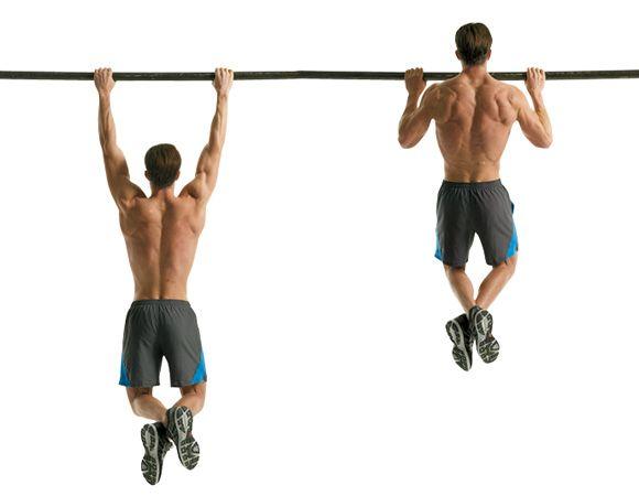 Pullup or Chinup Variations http://www.menshealth.com/fitness/6-best-back-exercises/slide/2