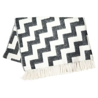 Variant: white-black  Gunnel throw is made of 100% lambs wool with a grafic design that also can be found on Brita Swedens rugs and carpets. The blanket comes in ...    Read more about Gunnel throw  $170.47 (VAT excl.)