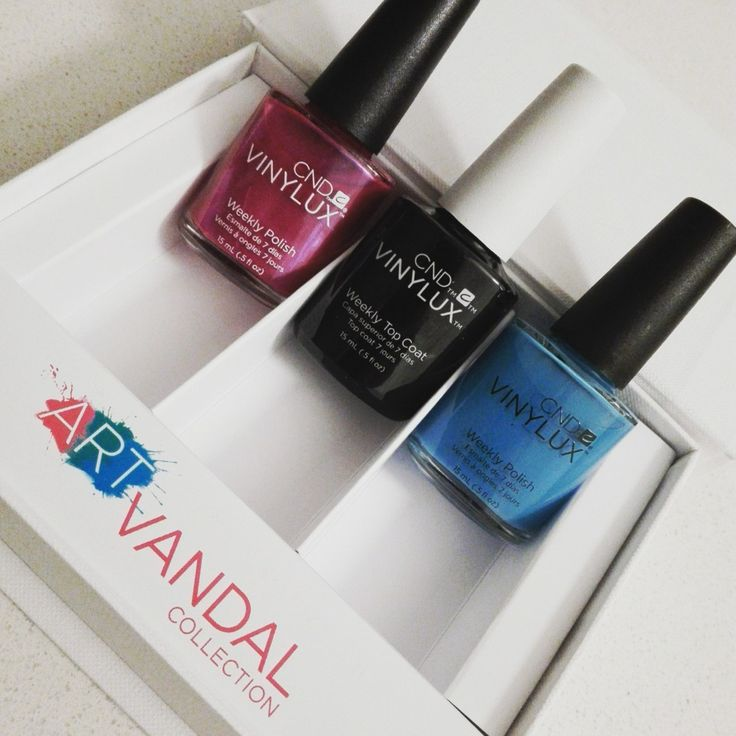 Art Vandal Collection by CND & Giveaway!!