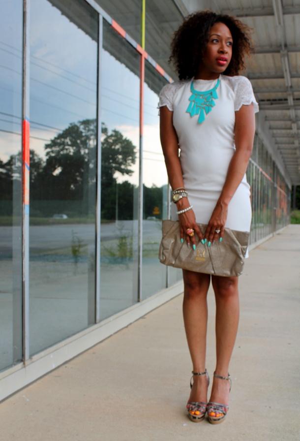 Mattie Muse: LWD - Little White Dress: Style Lwds, Spring Summer Fashion, Fashion Baby, Mattie Muse, Summer Cloths, Little White Dresses