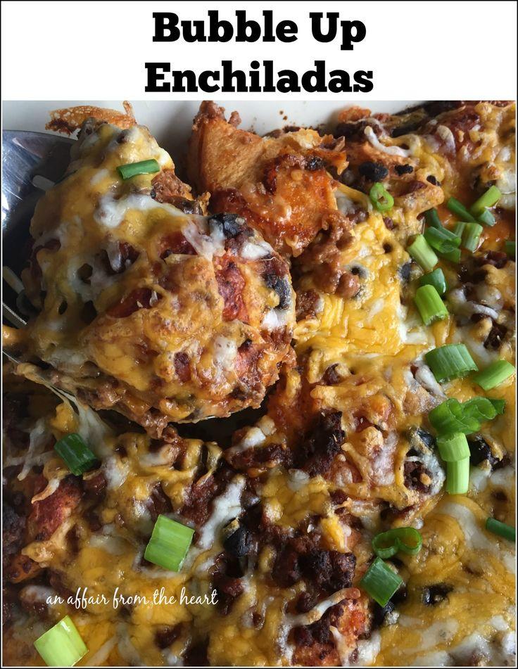 Bubble Up Enchiladas