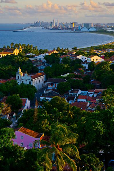 Our beautiful homeland... Visit us at www.melko.com.au!   - - -     [Historic Center, Olinda (PE) - Brazil... Beautiful city]