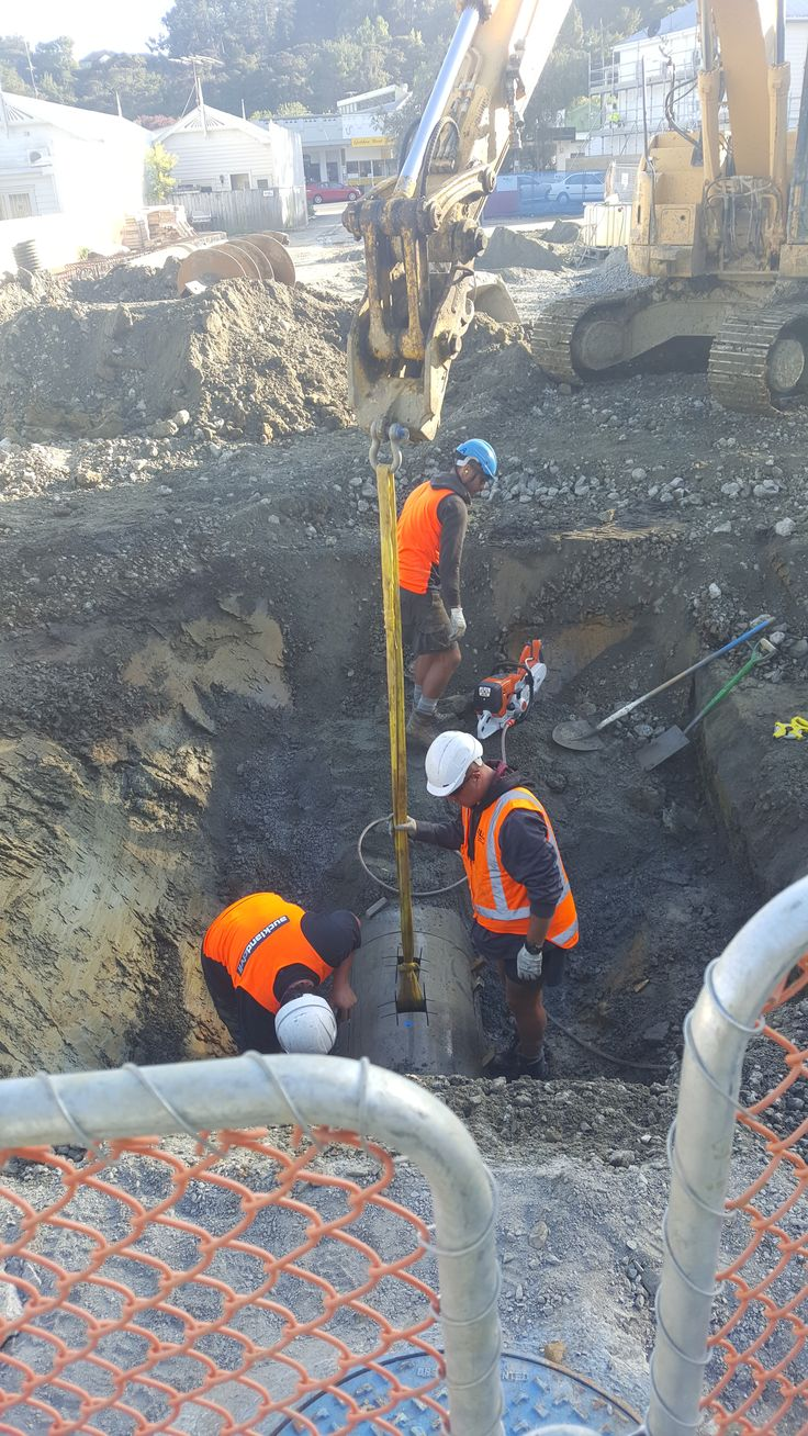 CLL completing drainage works
