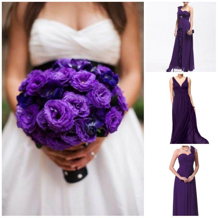Best 20 Bright Purple Bridesmaid Dresses Ideas On