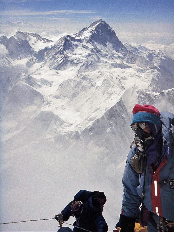 everest climbers on pinterest | ... Pinterest | Mount Everest, Climbing Everest and Top Of Mount Everest