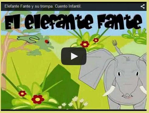 Logopedia en especial: Elefante Fante y su trompa