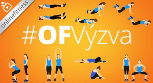 Online Fitness výzva pro štíhlou postavu