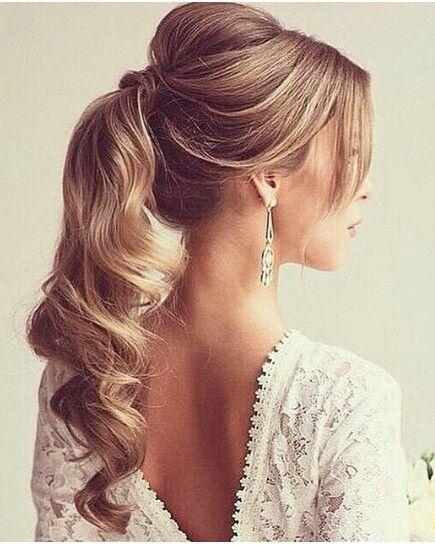 10 peinados para novias con pelo largo