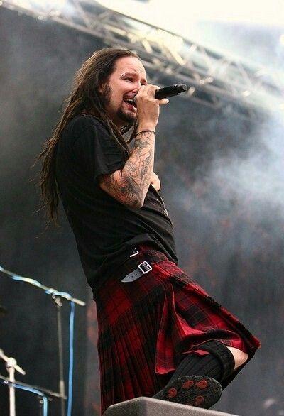 Jonathan Davis from Metal band Korn