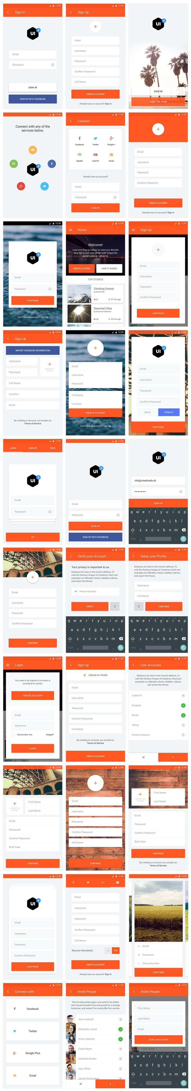 Material UI Kit https://ui8.net/product/material-ui-kit