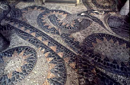 мозаика из гальки - Поиск в Google