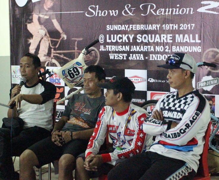 Serunya para Pecinta BMX Diacara Old School BMX Bandung Show & Reunion 2