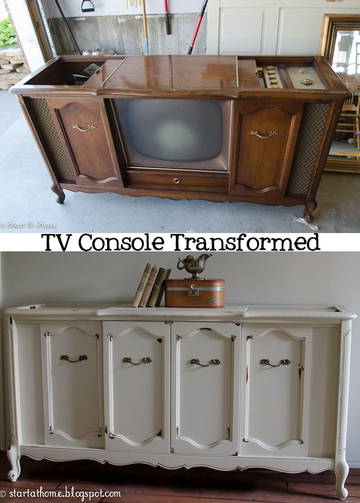 Start At Home: TV Cabinet Transformed