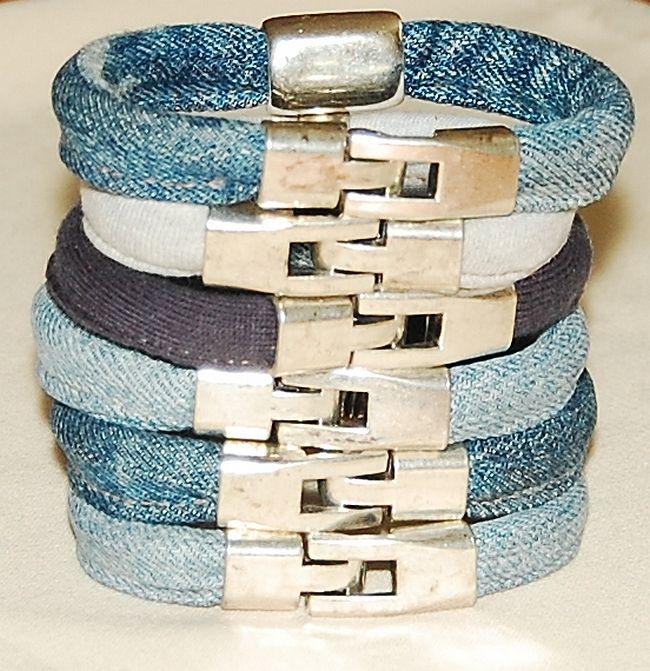 jeans&cotton bracelets