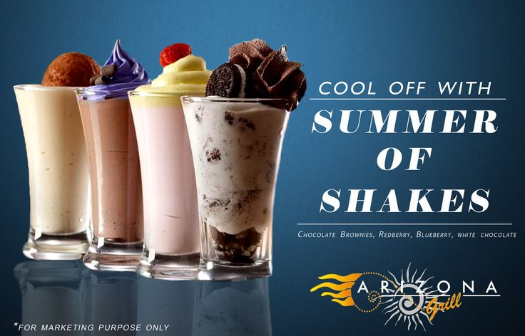 Summer full of shakes