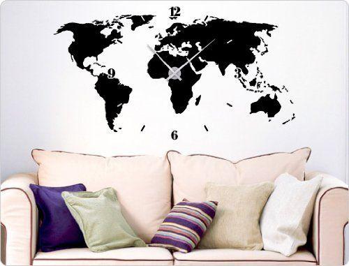 21 best Wandtattoo Uhren images on Pinterest Wall clocks - wandtattoos küche kaffee