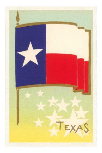 Flag of Texas Prints at AllPosters.com