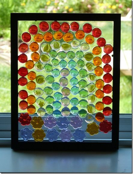 Gem Decorated Frame Sun Catchers