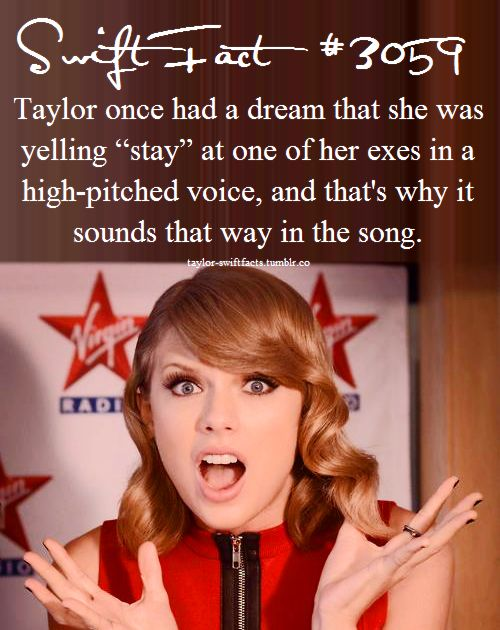 Taylor Swift - All You Had To Do Was Stay