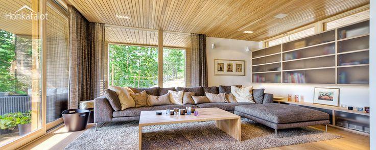 Plushuvila Suomessa | Modern wooden villa