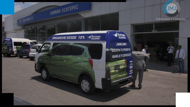 Publicidad Móvil Chevrolet Sumar Ecatepec