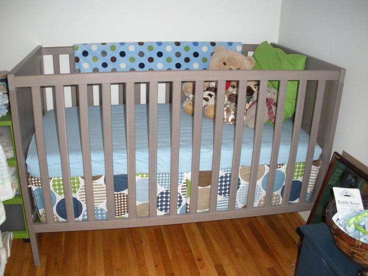 ikea sundvik crib love this grey brown line of furniture. Black Bedroom Furniture Sets. Home Design Ideas