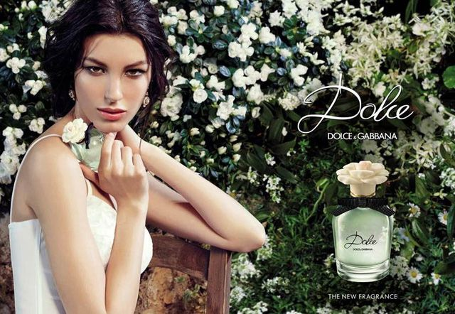 Kate King Lands 'Dolce' by DolceGabbana Fragrance Campaign
