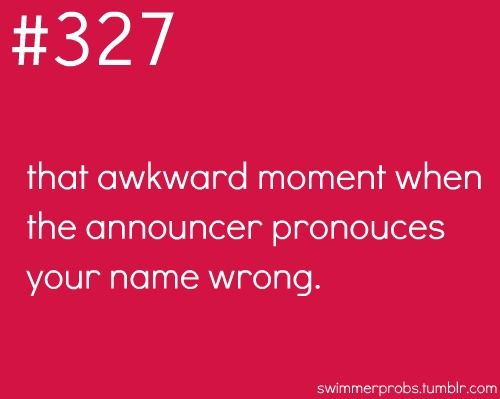 Omg I hate that soooo much! No one has ever got it right  lol