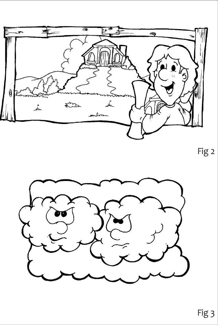 17 best images about bible nt wise and foolish builders for Parable of the rich fool coloring page